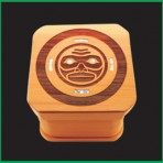 Moon Mask Bentwood Box