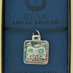 Native Pewter Bear Pendent